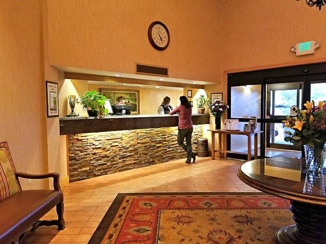Glenwood Hot Springs Resort Lobby, Glenwood Springs, Colorado