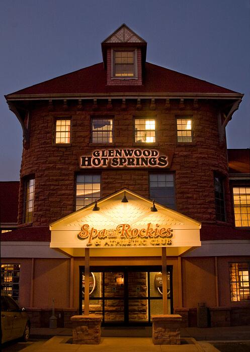 Spa of the Rockies at Glenwood Hot Springs, Glenwood Springs, Colorado Photo credit: Glenwood Hot Springs