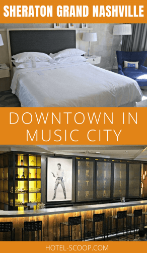 Downtown Nashville has a vibrant city core, and the Sheraton Grand Nashville allowed us to take advantage of being downtown, without the oftentimes worrisome concerns of staying in the inner city.