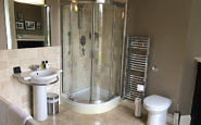 newforge house bathroom, irelands blue book boutique hotel, bed & breakfast, county armagh, northern ireland