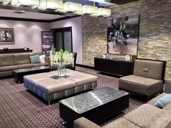 Lobby, Quattro Hotel, Sault Ste. Marie, Ontario, Canada