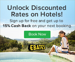 cash back on hotel bookings