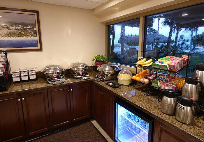 breakfast at Best Western Plus Fort Myers Beach Resort