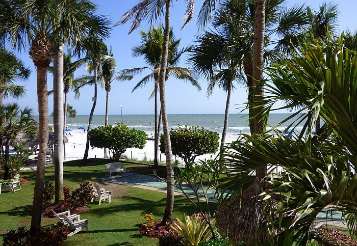 Ft. Myers Florida beachfront resort