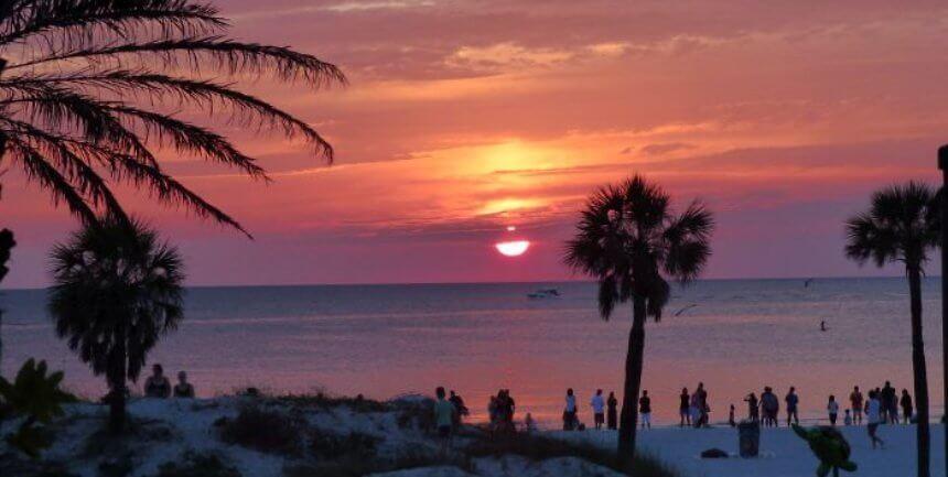 View from Shor Restaurant at Hyatt Clearwater Beach
