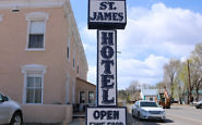 St. James Hotel, Cimarron, NM: Then Wild West - Now Upscale