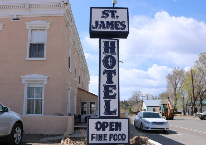 St. James Hotel, Cimarron, NM: Then Wild West – Now Upscale