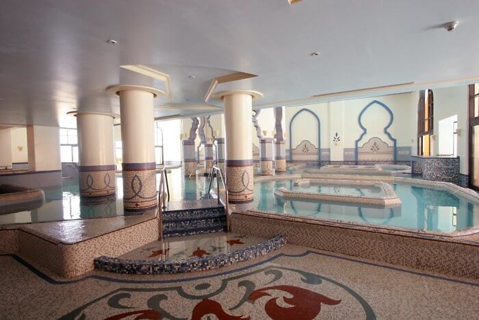 spa interior, egypt, soma bay, red sea, The Cascades Golf Resort, Spa & Thalasso
