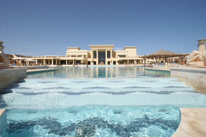 pool view of Sheraton Soma Bay, Egypt