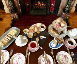 afternoon tea, scones, ardtara country house, irelands blue book hotel, county derry, northern ireland