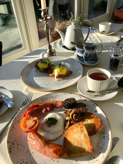 irish fry breakfast, irish breakfast, ardtara country house, irelands blue book,