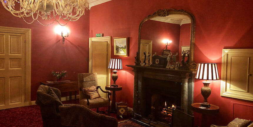 castle grove country house, irelelands blue book, drawing room, letterkenny, ireland, county donegal