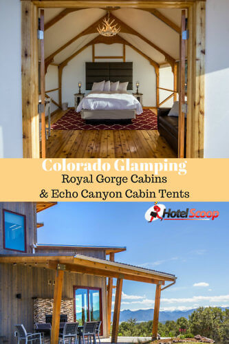 Colorado Glamping at the Royal Gorge Cabins & Glamping Tents in Canon City. #Coloradoglamping #colorado #glamping