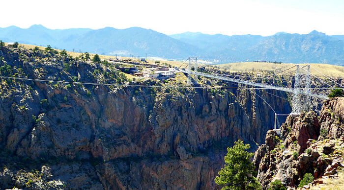 Royal Gorge Bridge & Park, America's highest suspension bridge & zip line.