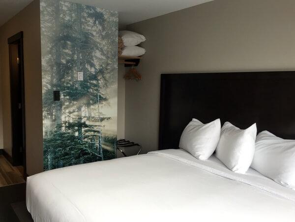 Guest room, Tofino Resort & Marina, Tofino, BC, Canada