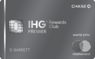 IHG rewards credit card points