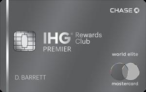 IHG rewards credit card points