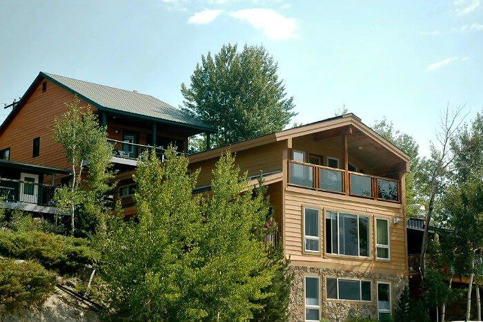 The Lake House lodging options at westin Riviera, Grand Lake, Colorado