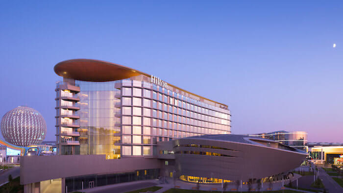 A Hilton Like No Other, in a City Like No Other
