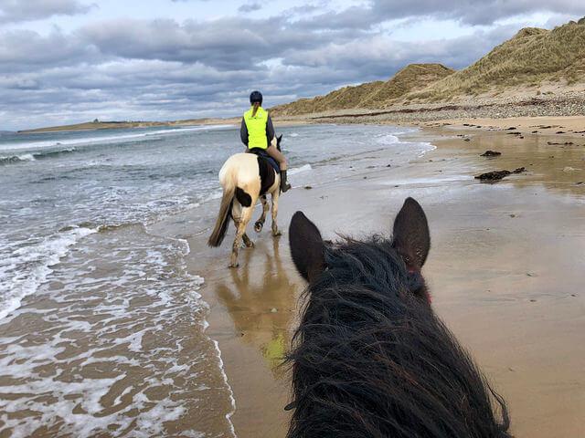 island view riding stables, strandhill, county sligo, ireland, horseback riding, wild atlantic way