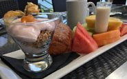 Breakfast, Aura Restaurant, Inn at Laurel Point, Victoria, BC, Canada