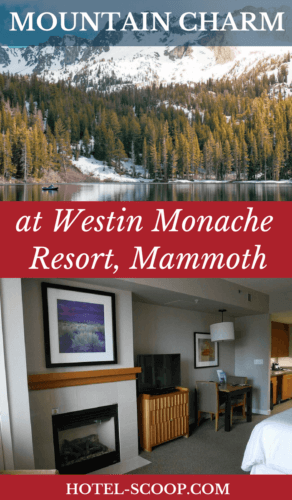 The Westin Monache Resort is located at the foot of Mammoth Mountain, a well-regarded ski destination, and in the midst of the shops, restaurants, and bars of the Village at Mammoth. It's a casual vibe that is the perfect blend of mountain charm and Westin luxury.