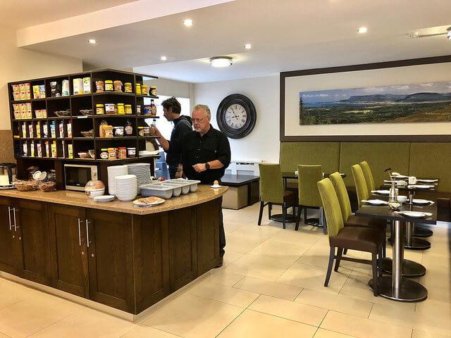 breakfast room, strandhill lodge & suites, county sligo boutique hotel, ireland