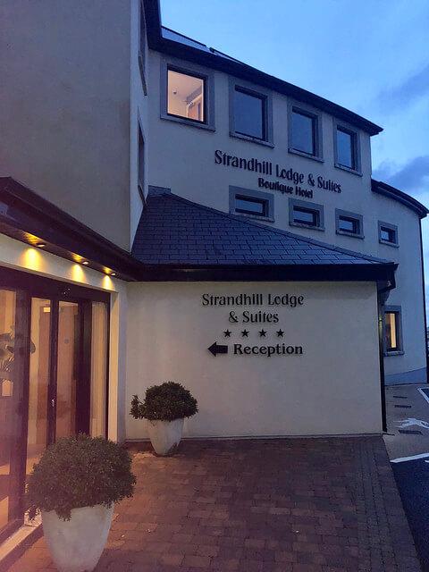 strandhill lodge & suites, county sligo, boutique hotel, ireland