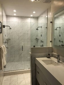 he Inn at Union Square Spreckels Suite Master bathroom