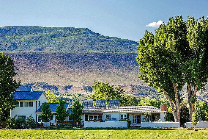agape farm resort retreat, paonia, colorado