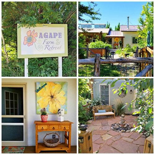 Entrance of Agape Farm & Retreat, Paonia, Colorado