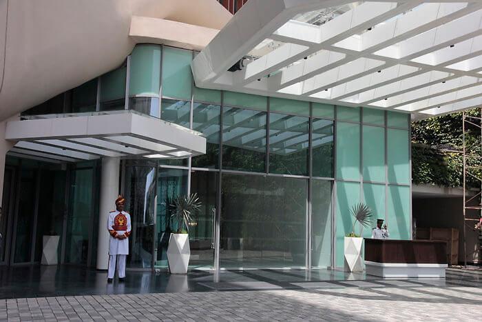 ITC Kohenur Hyderabad entrance
