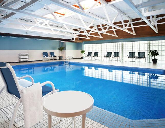Indoor Pool, Sheraton Four Points Gatineau Ottawa