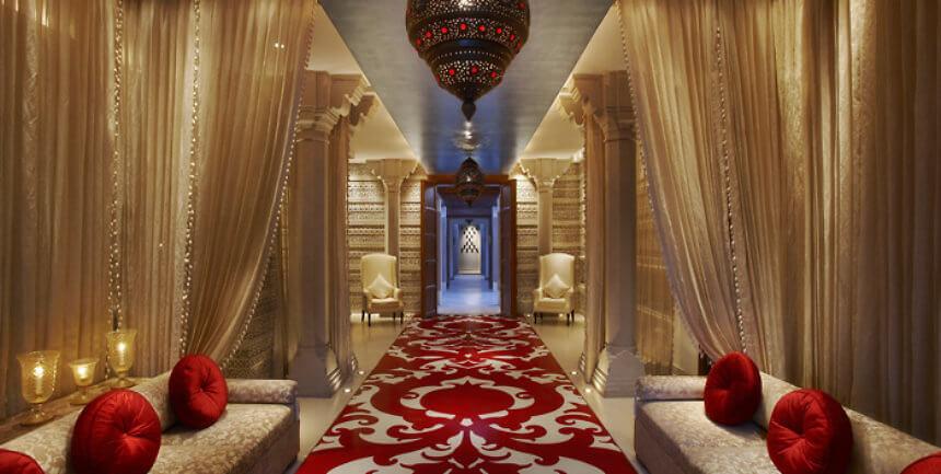 Lobby Long Kaya Kalp - The Royal Spa ITC Mughal