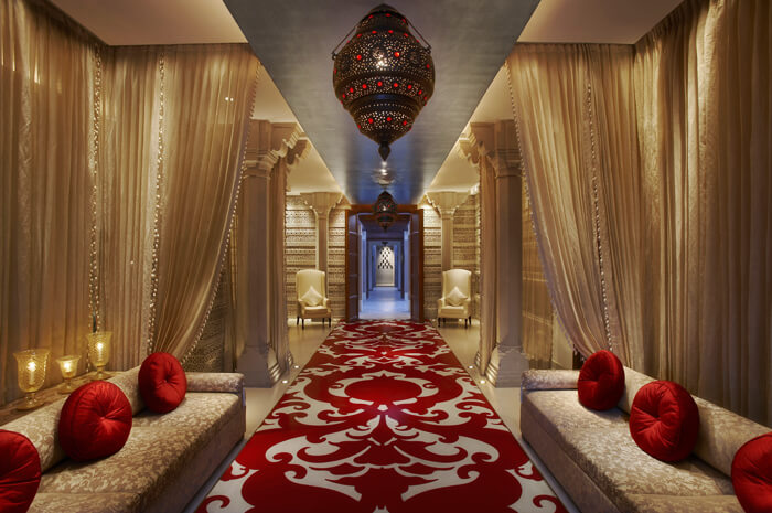 Lobby Long Kaya Kalp - The Royal Spa ITC Mughal