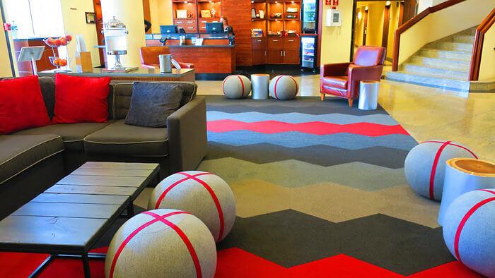 Lobby Sheraton Four Points Gatineau Ottawa