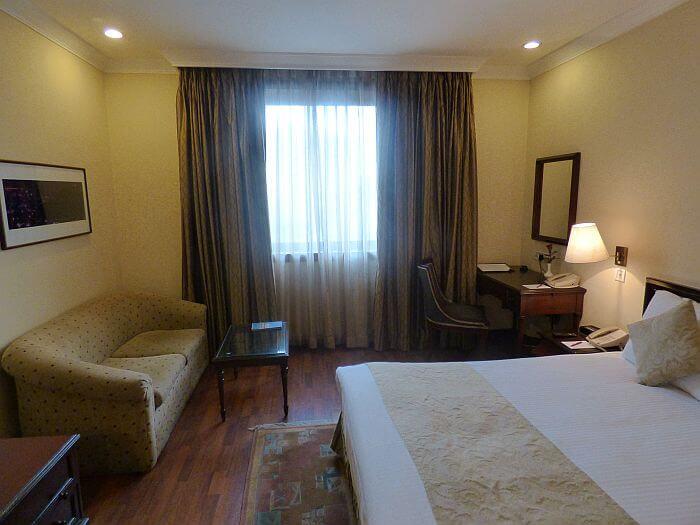 Kathmandu hotel room