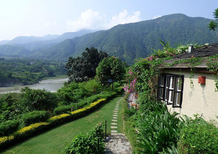 Summit River Lodge on the Trishuli River in Nepal