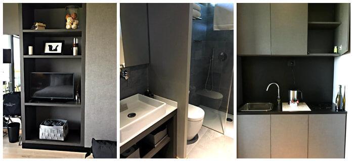 Room details at Arborina Relais