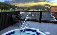 Hot tub, Explorer's Society Hotel, Revelstoke BC Canada