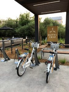 Rental Bicycles at Hotel Trio