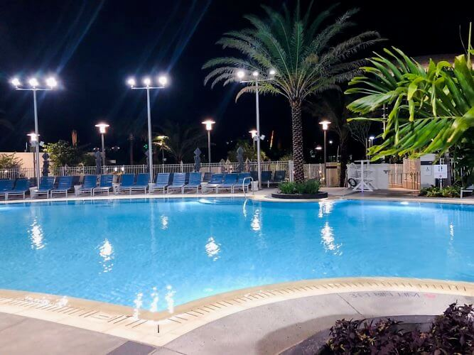 pool at Aventura Hotel orlando