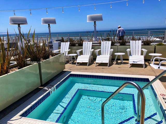 dipping pool, swimming pool, inn at the pier, pismo beach, california