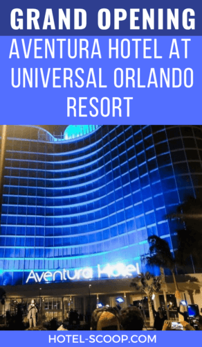 A review of the prime value Aventura Hotel at Universal Orlando resort