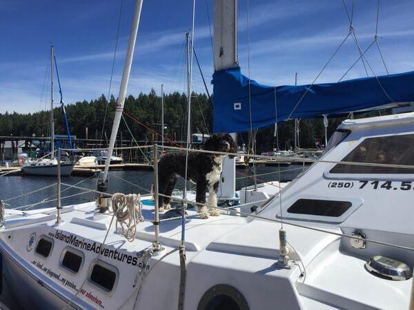 Sailing, Nanaimo BC Canada