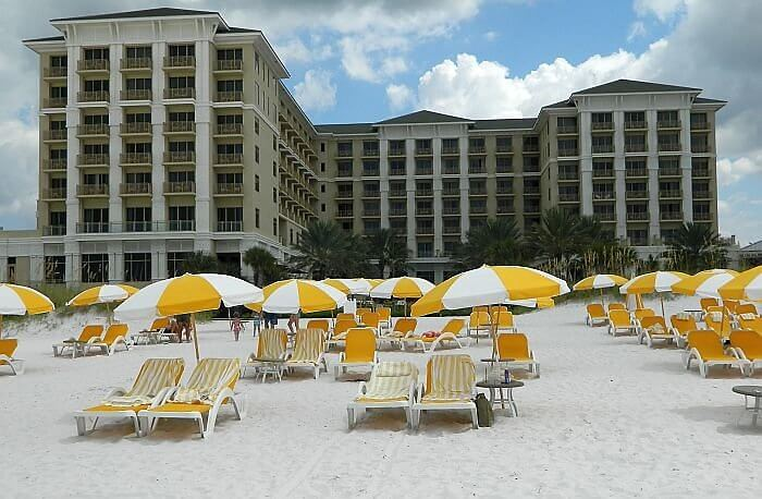best luxury hotel on Clearwater Beach