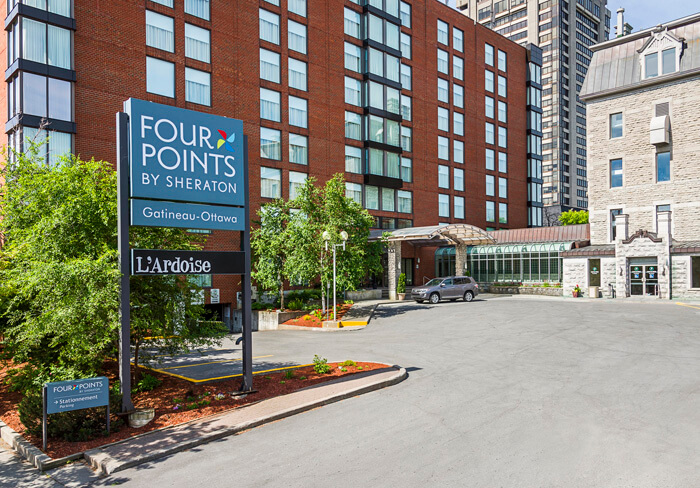 How to smell the flowers at Four Points by Sheraton Gatineau Ottawa