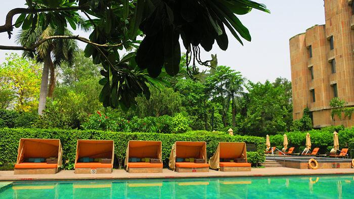ITC Maurya pool