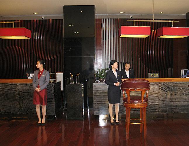 Hotel Regalia, Hangzhong, China (Photo by Susan McKee)