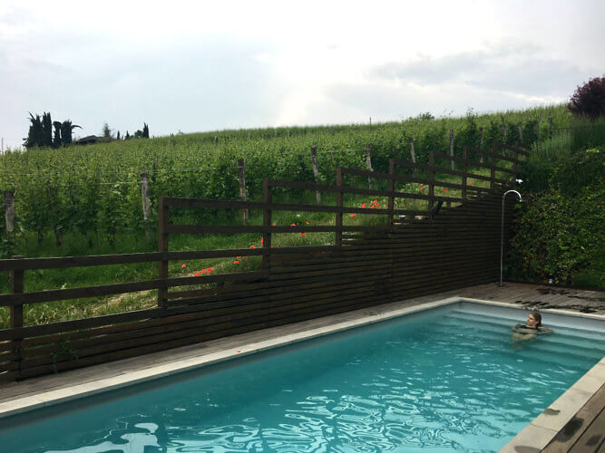 Pool at Arborina Relais